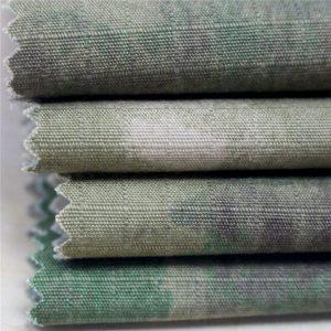 Армийн хувцас загварын эсрэг статик цэргийн хэвлэх Ripstop Cotton Fabric
