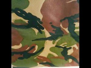 өнгөлөн далдлах хэвлэх ус нэвтрүүлдэггүй ripstop Nylon Оксфордын нэгдсэн цэргийн даавуу